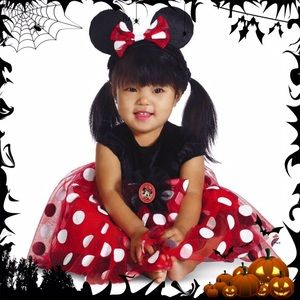 NWT 12-18M Minnie Mouse Infant Halloween Costume